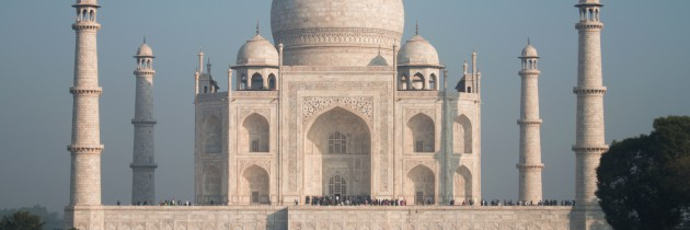 India and the Taj Mahal