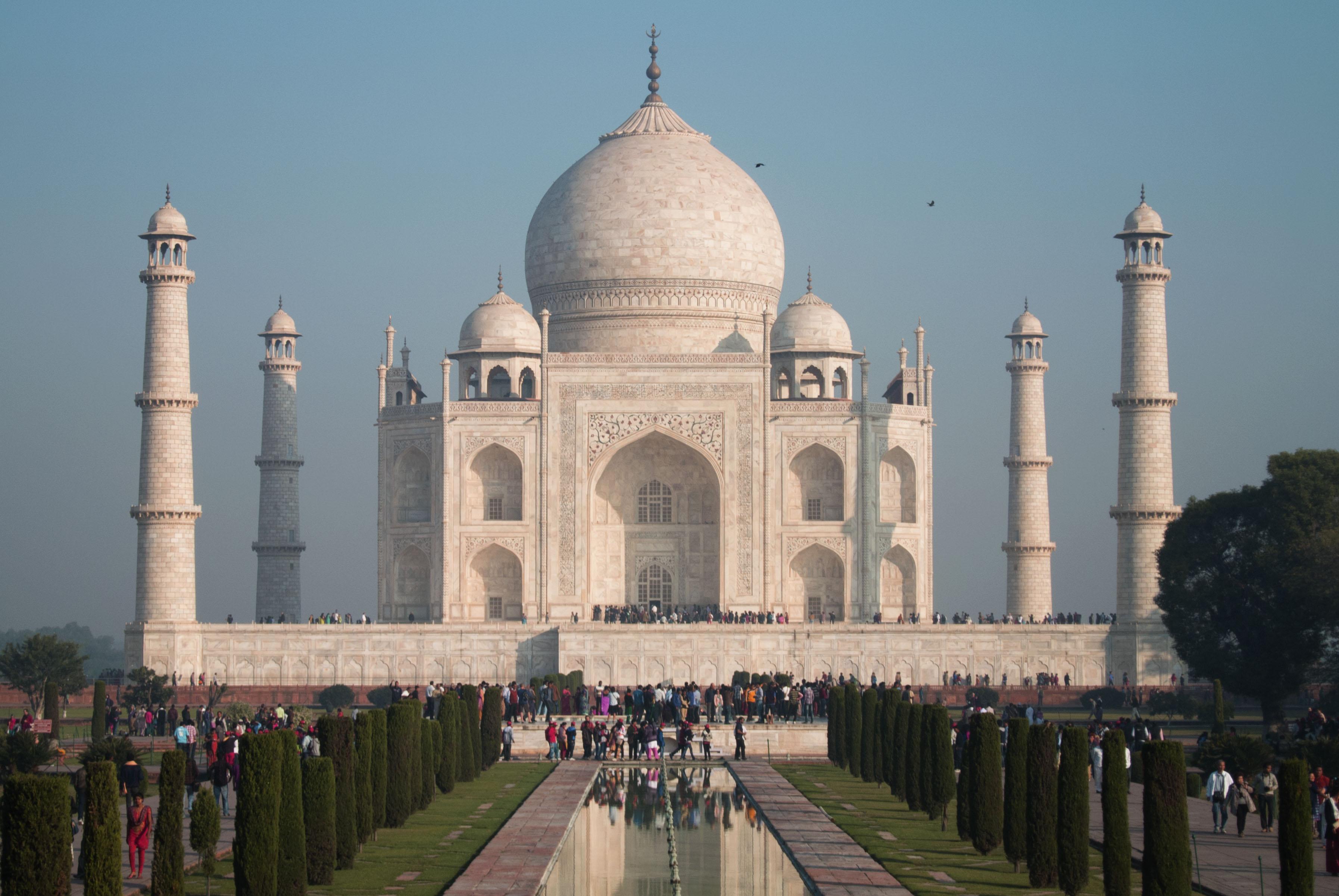 India and the Taj Mahal