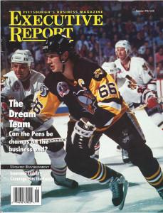 Pittsburgh Penguins star Mario Lemieux