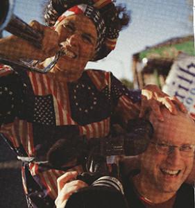 Photo of Jeff Krulik, filmmaker of Heavy Metal Parking Lot fame